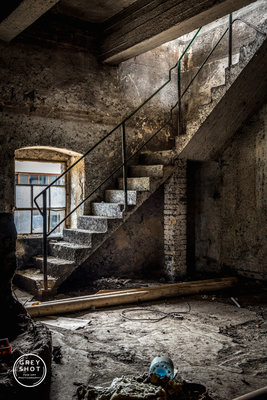Greyshot - Cardboard Staircase