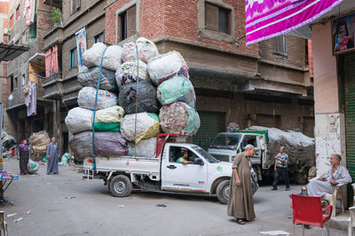 Stef Peters - Streetcorner @ Garbage city, Cairo