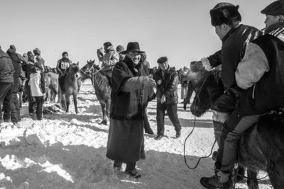 Aart Sliedrecht - Horse race Mongolia III