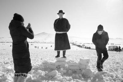 Aart Sliedrecht - Horse race Mongolia VI