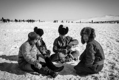 Aart Sliedrecht - Horse race Mongolia I
