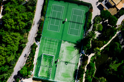 Drone fotograaf Anne - Tennis court