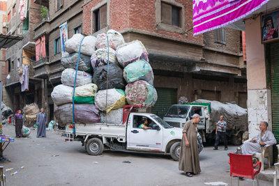 Stef Peters - Streetcorner @ Garbage city, Cairo