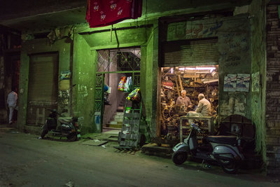 Stef Peters - Revival at night @ Garbage city, Cairo
